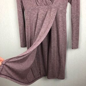 Athleta Dresses - Althleta Wrap it Up Dress in Lavender Size Small